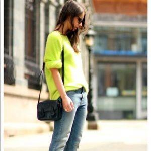 Forever 21 Lime Green Light Sweater